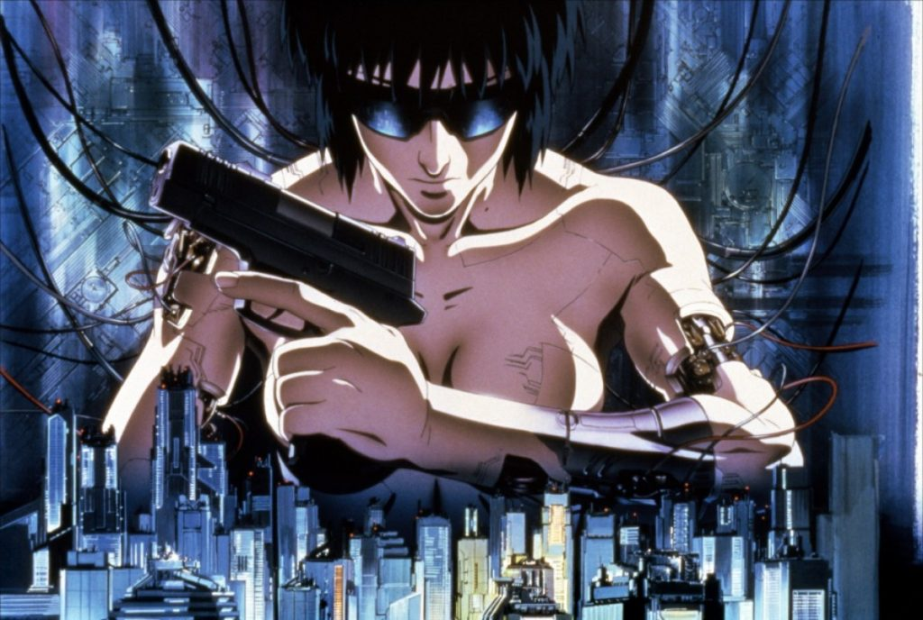 10 film ghost in the shell
