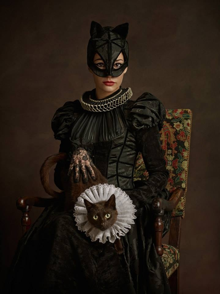 super flemish cat woman