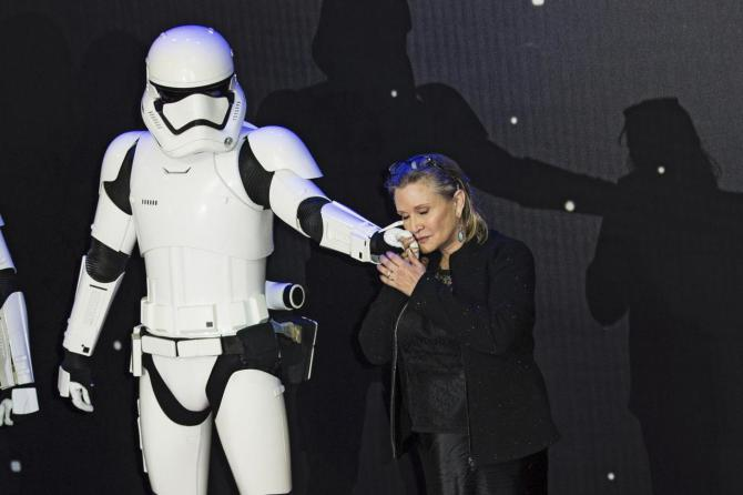 carrie fisher morta