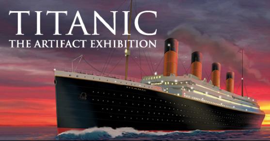mostra TITANIC - THE ARTIFACT EXHIBITION