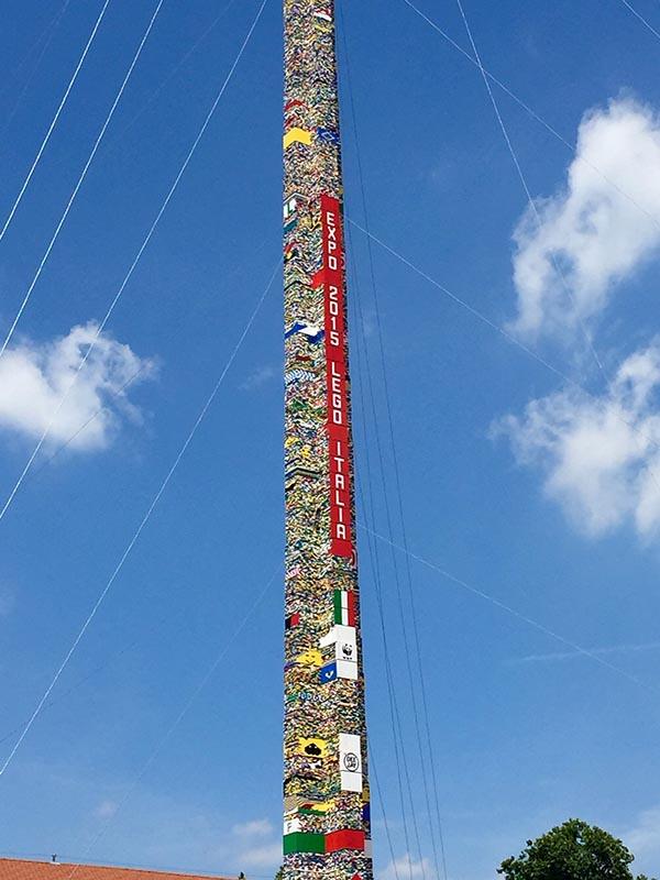Torre più alta del mondo LEGO