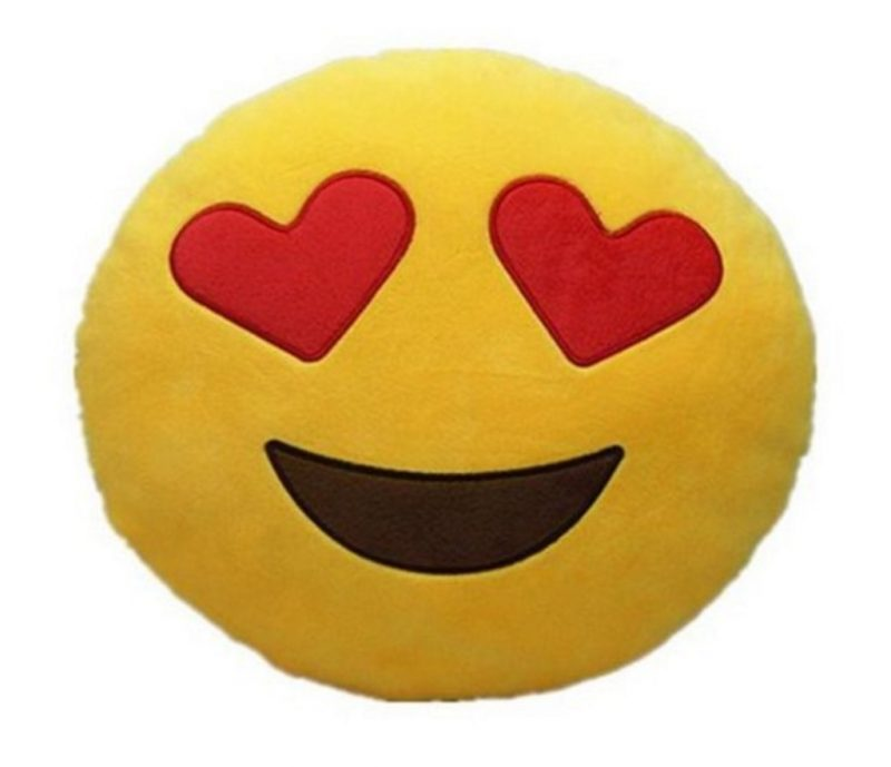 cuscino emoji love regali di san valentino