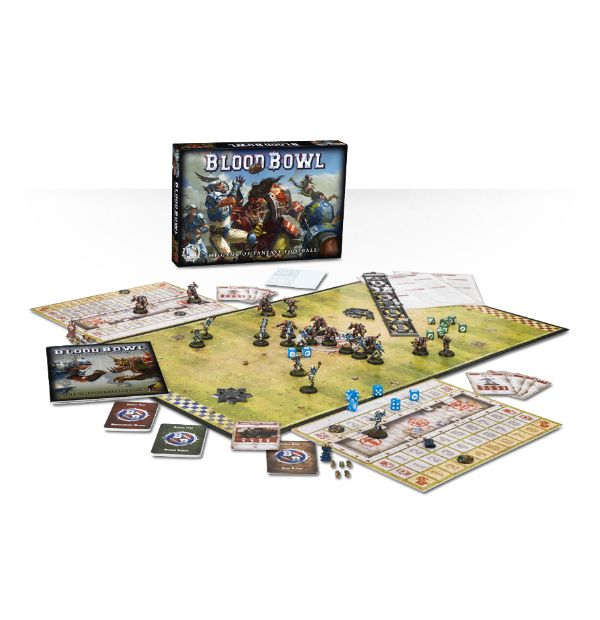 BloodBowl box content