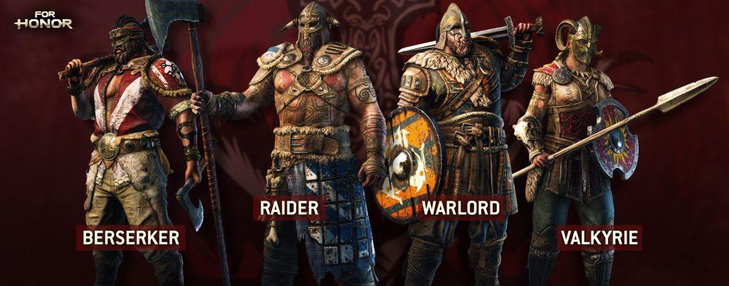 for Honor Warriors_wip_v1