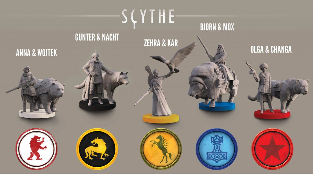 scythe characters