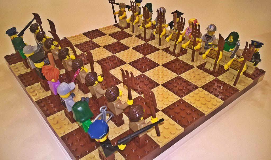scacchiera lego