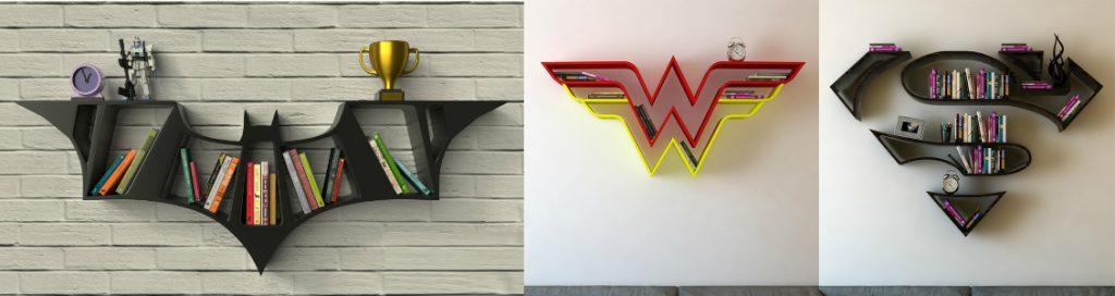 Scaffali Justice League