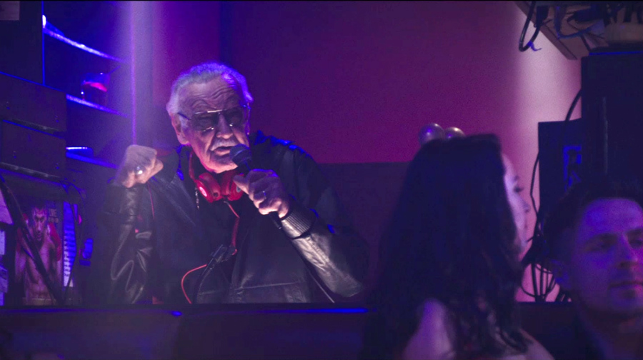 Stan Lee nello strip club in 'Deadpool'