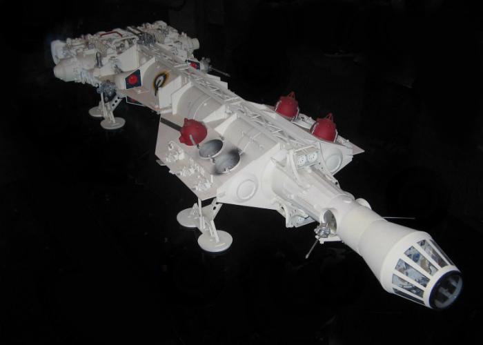 Il modellino originale del Millennium Falcon