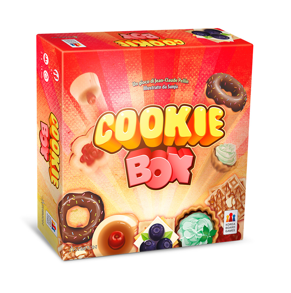 Asmodee Cookie Box