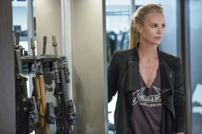charlize theron Fast and furious 8
