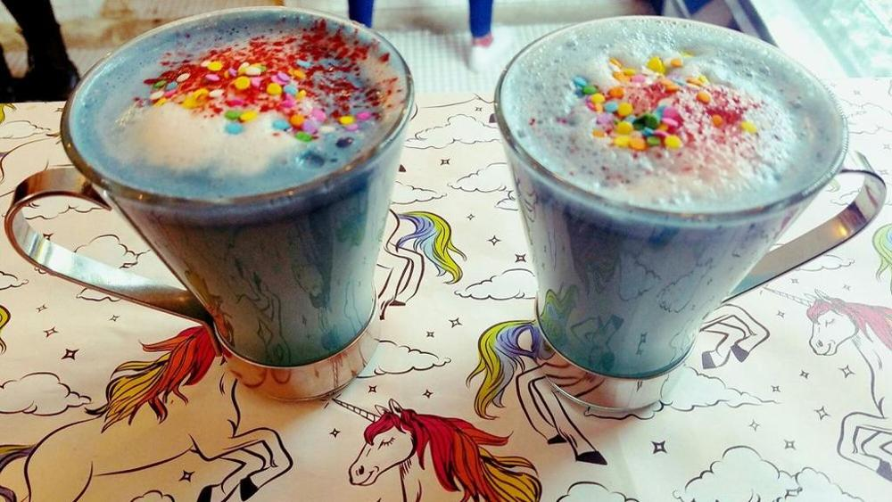 Unicorn Food Latte Unicorno