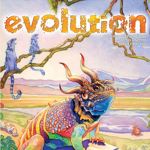 Evolution boardgame