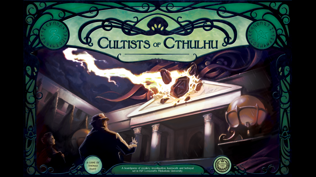lovecraft boardgames cultists of cthulhu