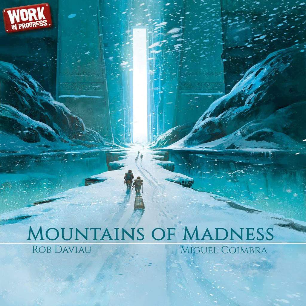 lovecraft boardgames mountains of madness
