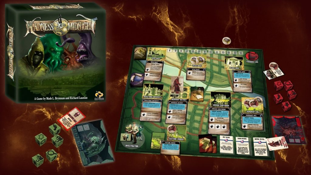 lovecraft boardgames madness at midnight
