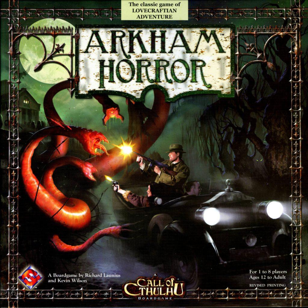 lovecraft boardgames arkham horror 2005