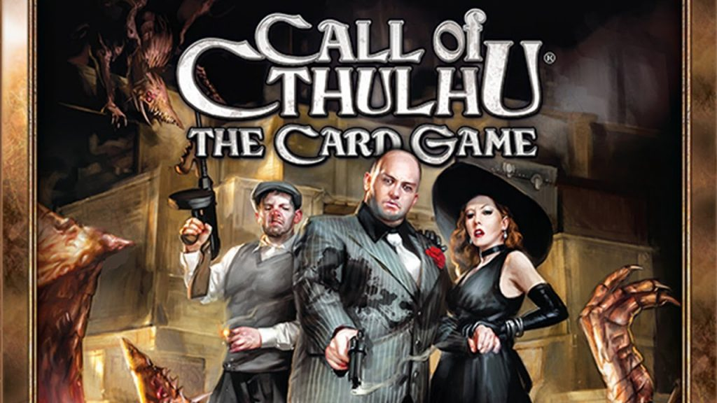 lovecraft boardgames call of cthulhu ccg lcg