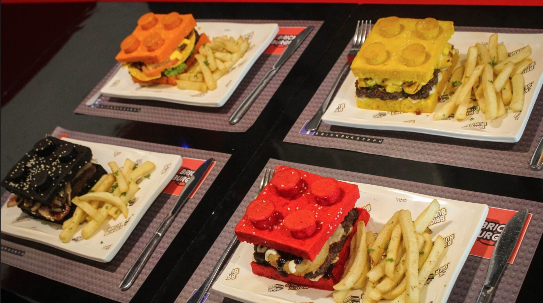 HAMBURGER DAY LEGO BURGER