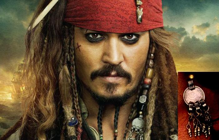 Pirati dei Caraibi The makeup of makeup Pirates