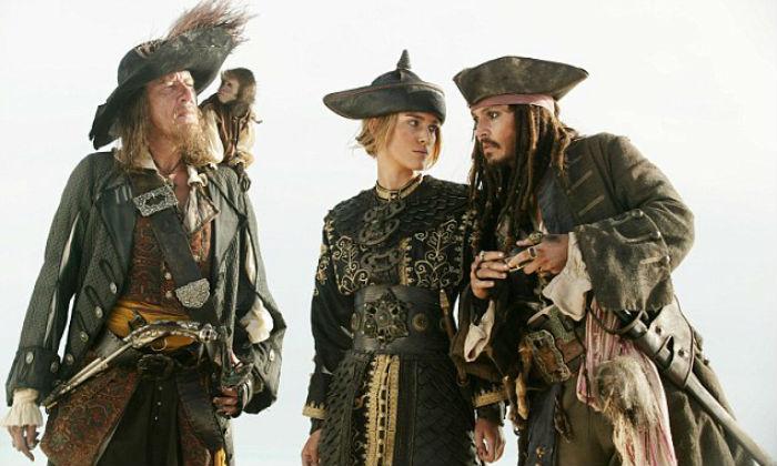 Pirati dei Caraibi Ehi guardatemi! Sono qui a sinistra!