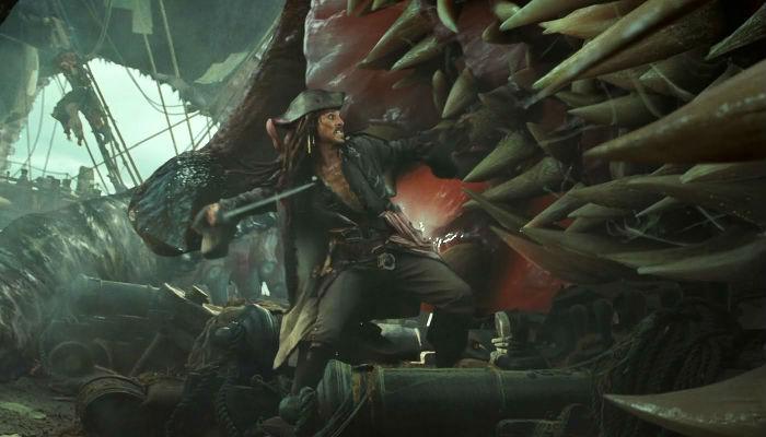 Pirati dei Caraibi Cibo per Kraken