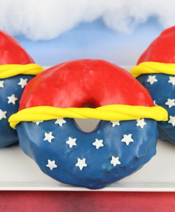 Ciambelle Wonder Woman