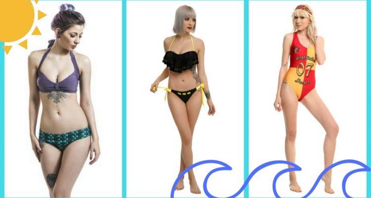 costumi e bikini nerd