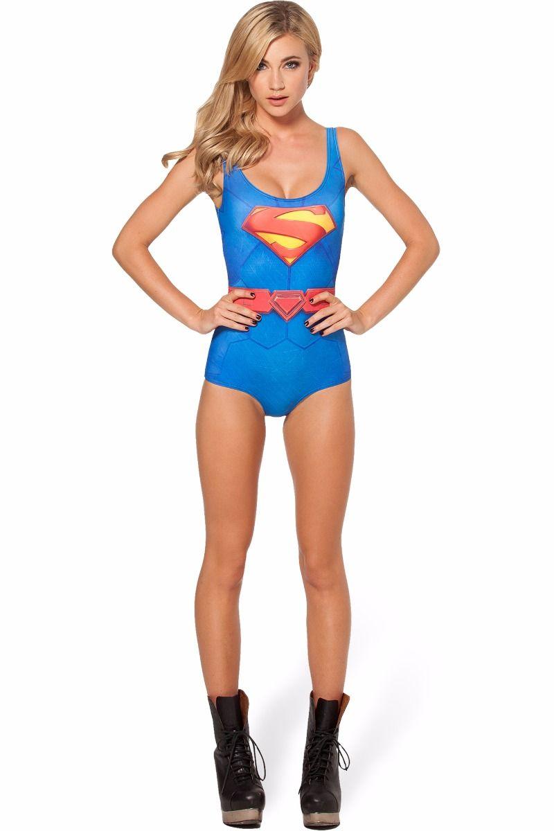 Costume bagno superman