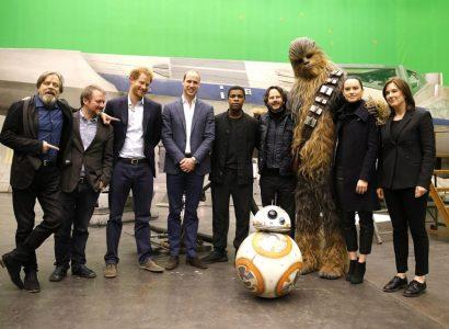 William e Harry Star Wars