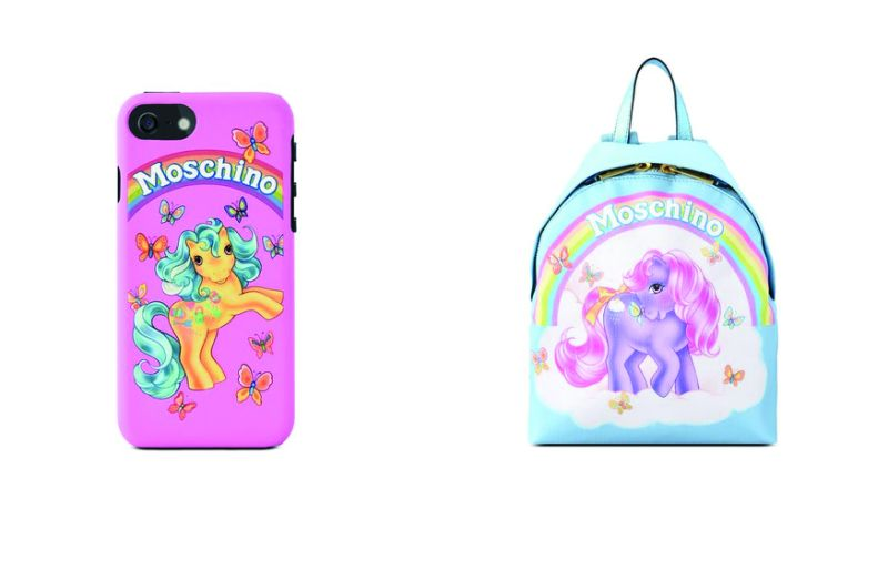Moschino capsule collection mini pony