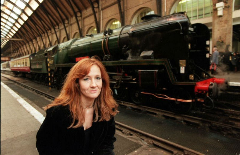 J.K.Rowling King's Cross Harry Potter
