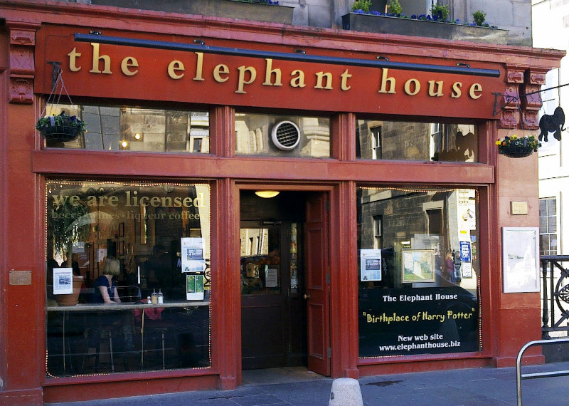 Elephant House Harry Potter