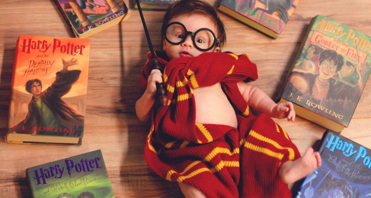 Mamme e bebè nerd harry potter