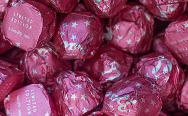 Baci perugina rosa