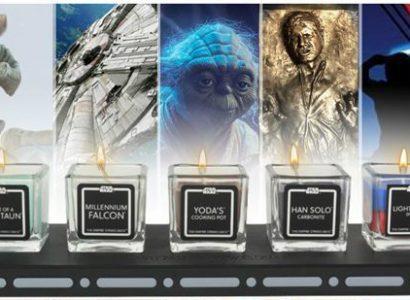 star wars candele profumate 0