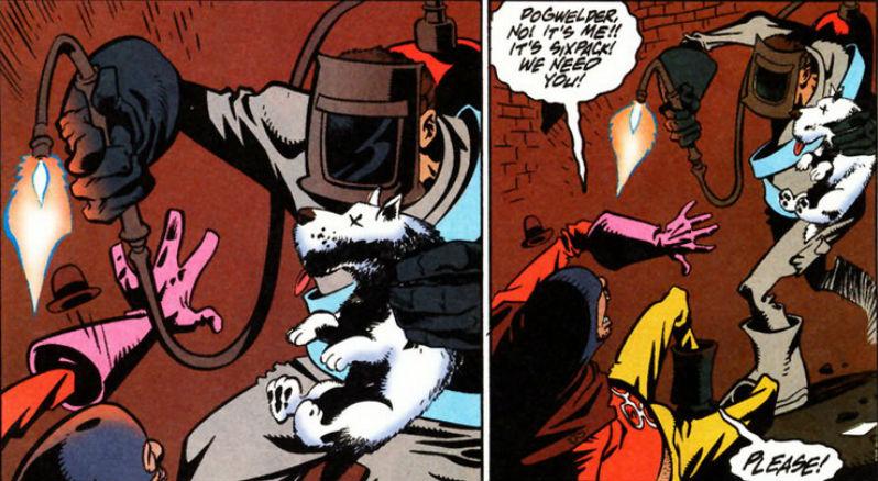 Peggiori supereroi Dogwelder